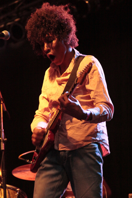 Boogarins at the Seaport Music Festival