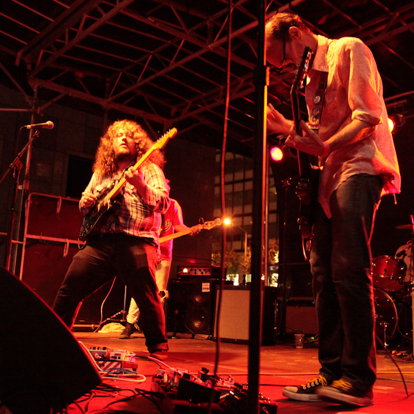 Dead Gaze and The Mystery Lights at the Seaport Music Festival