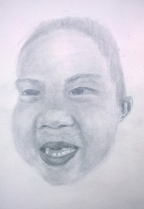 My nephew, the other TT, when he lost his two front teeth.