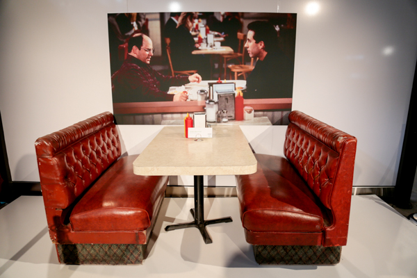 June 26, 2015: Seinfeld apartment pop up exhibit and gallery created by Hulu at Milk Studios in New York City. #seinfeldapartment Mandatory Credit: Tear-n Tan 2015 © Tan.  All Rights Reserved.