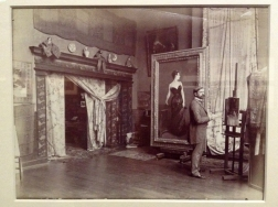 John Singer Sargent, Paris, 1880 by Edmond Benard