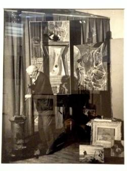 Georges Braque, Paris, 1946 by Brassai