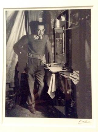 Brassai in his hotel room, Paris, 1932 by Brassai
