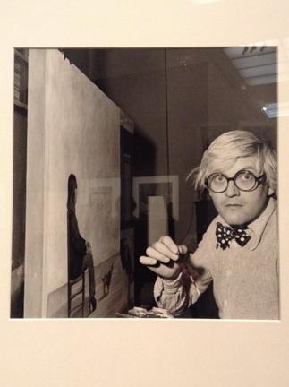 David Hockney, 1975 by Andre Ostier