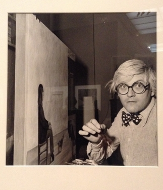 David Hockney, 1975 by Andre Ostier
