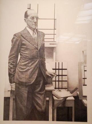 Piet Mondrian, 1990 by Hucleux, Jean Julien Olivier