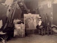 Toulouse-Lautrec, Paris, 1895 by Maurice Guibert