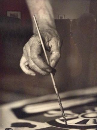 Fernand Leger, 1933 by Walter Limot